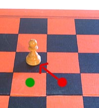 after the enpassant capture move of the chess pawn