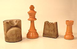 the chess king and rook, from ancient shatranj and modern chess