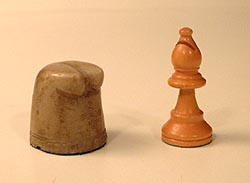 the bishop of ancient shatranj and modern chess