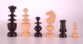 Regence (Regency) chessmen